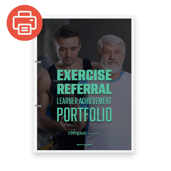 Exercise Referral Learner Achievement Portfolio - Printed