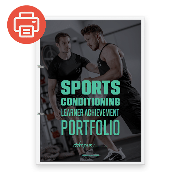 Sports Conditioning Learner Achievement Portfolio - Printed