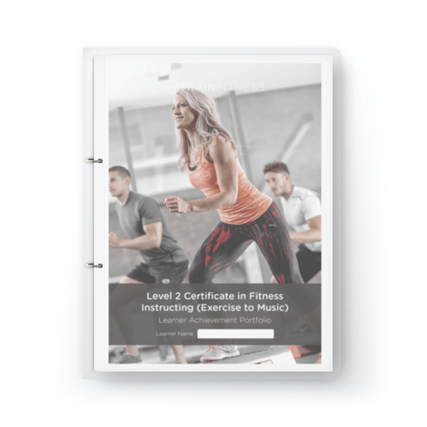Exercise To Music Learner Achievement Portfolio - Printed