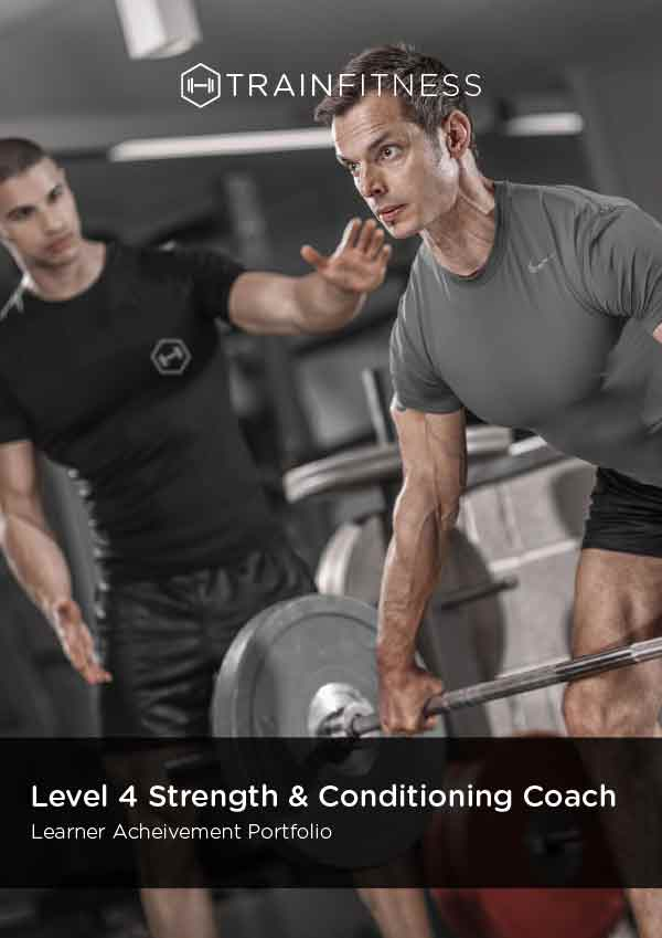 Strength & Conditioning Learner Achievement Portfolio - Printed