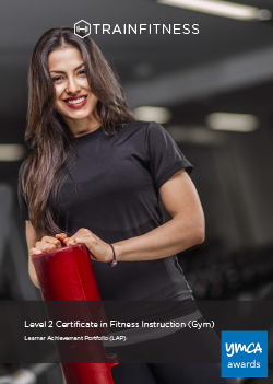 Level 2 Certificate in Fitness Instructing Gym Learner Achievement Portfolio - Printed