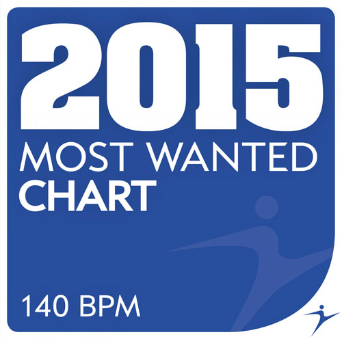 2015 Most Wanted - Chart - 140 BPM